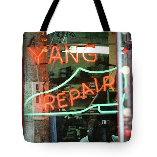 Yang Repair Tote Bag