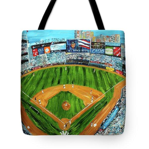 Yankee Stadium Tote Bag