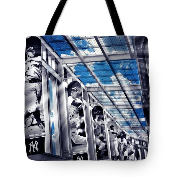 Yankee Immortals Iv Tote Bag by Aurelio Zucco