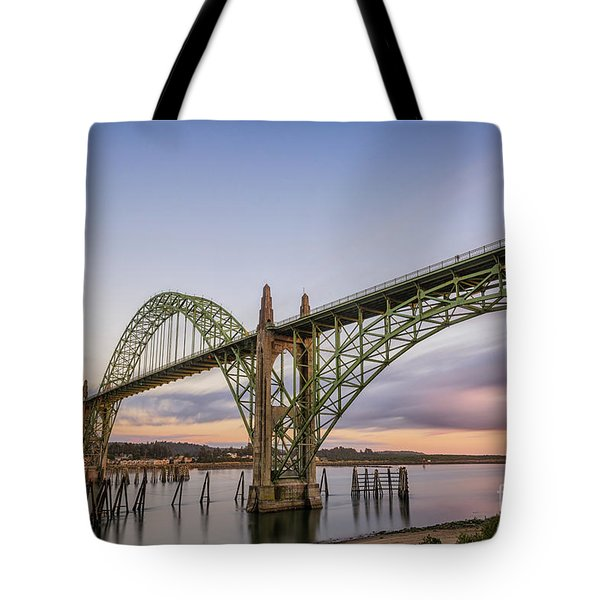 Yaquina Bay Bridge Tote Bag