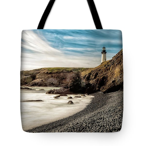 Yaquina Head Lighthouse 1 2017 Tote Bag