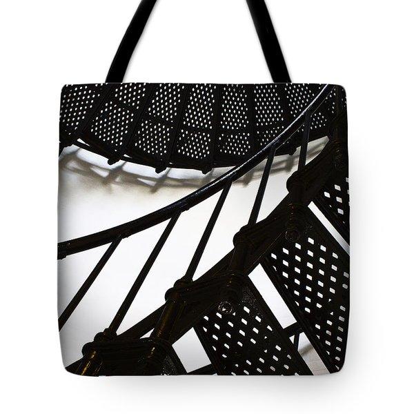 Yaquina Head Lighthouse  Tote Bag by Elena Nosyreva