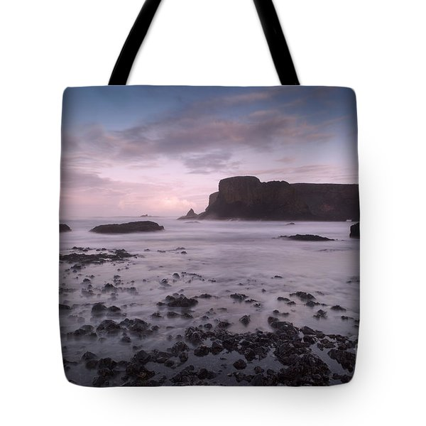 Yaquina Head Lighthouse Tote Bag by Keith Kapple