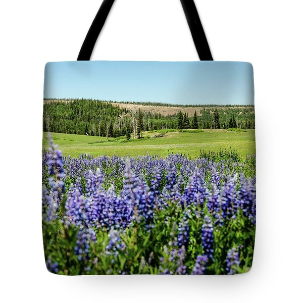 Yard Full Of Wildflowers Tote Bag