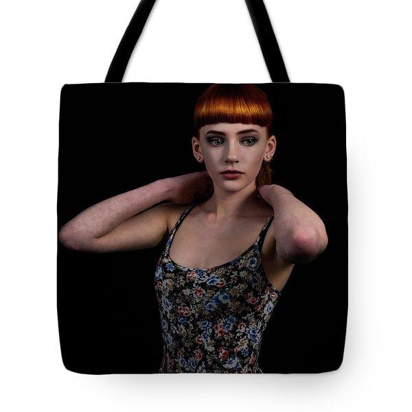 Yasmin Arms Raised Tote Bag