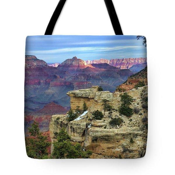 Yavapai Point Sunset Tote Bag