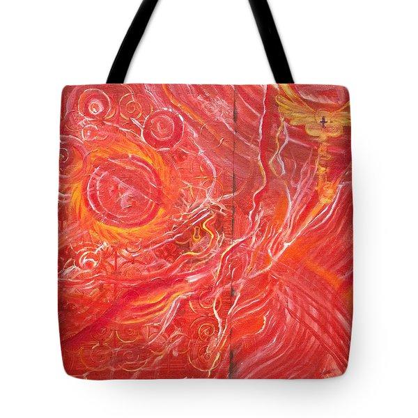 Yaweh El Shaddai Bottom Canvas Detail Tote Bag