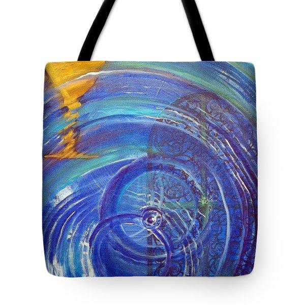 Yaweh El Shaddai Right Canvas Detail Tote Bag