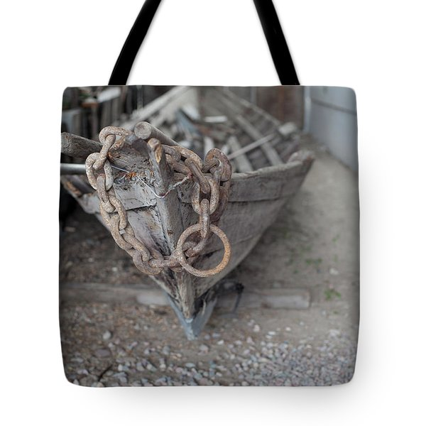 Tote Bag featuring the photograph Ye Old Fishing Boat by Fran Riley