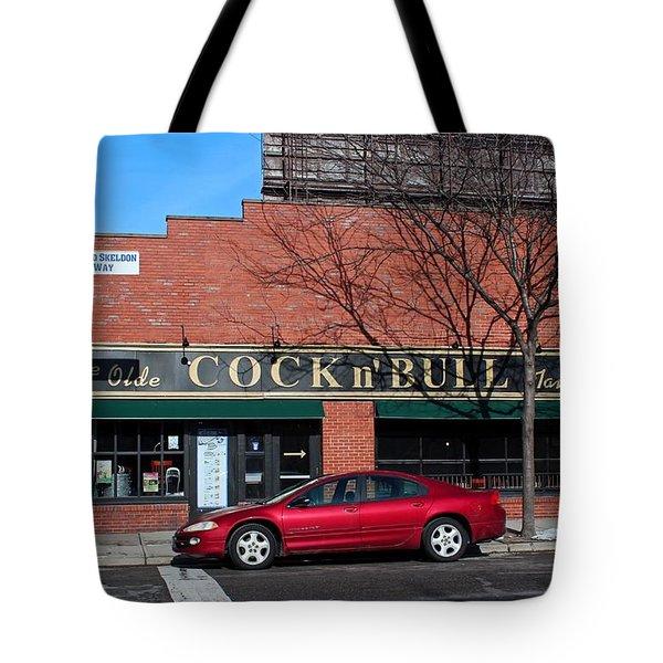 Ye Olde Cock N Bull Tote Bag