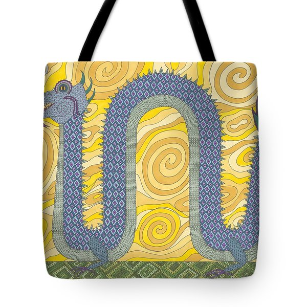 Year Of The Dragon Tote Bag by Pamela Schiermeyer