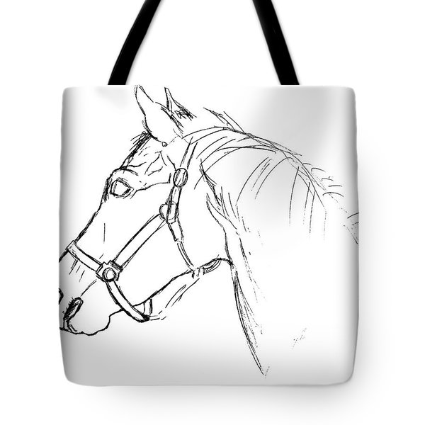Yearling White Tote Bag by JAMART Photography