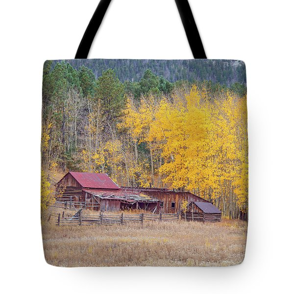 Yearning For The Tranquility Of A Rustic Milieu  Tote Bag