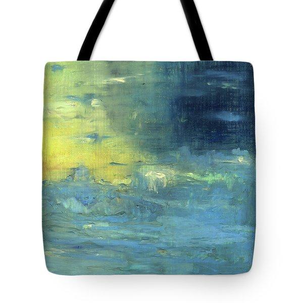 Yearning Tides Tote Bag by Michal Mitak Mahgerefteh