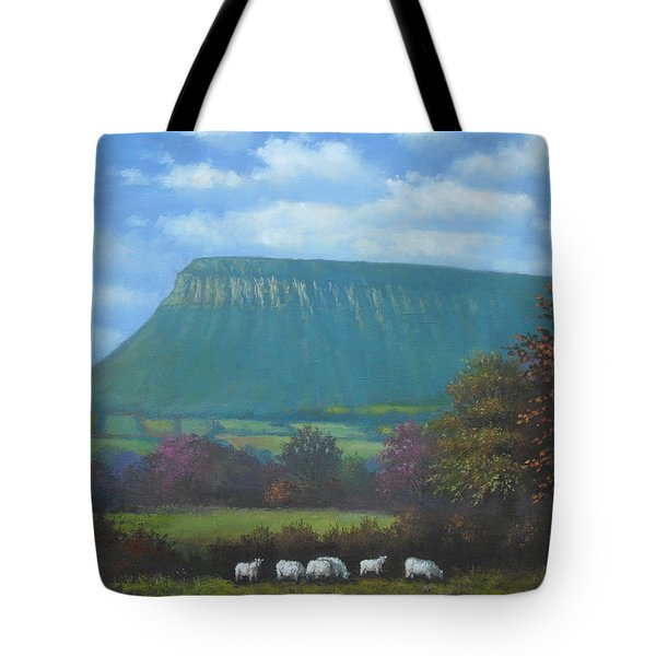 Yeats Country With Benbulben Tote Bag by Sean Conlon