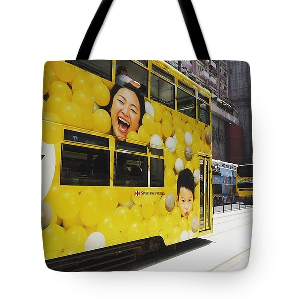 Yeay..the Tram Has Arrived Tote Bag