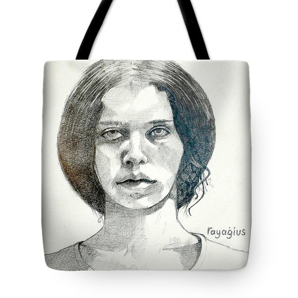 Yelena Tote Bag by Ray Agius