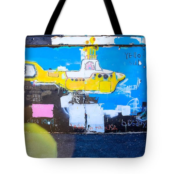 Yello Sub Tote Bag
