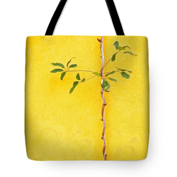 Yellow #2 Tote Bag