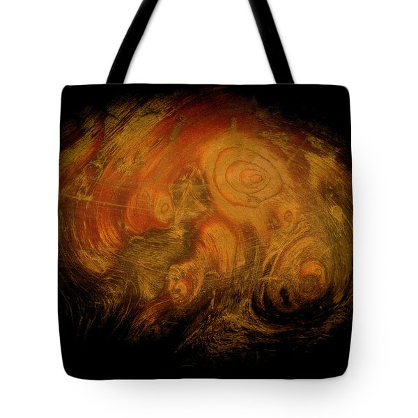 Yellow 3567 Signed Tote Bag