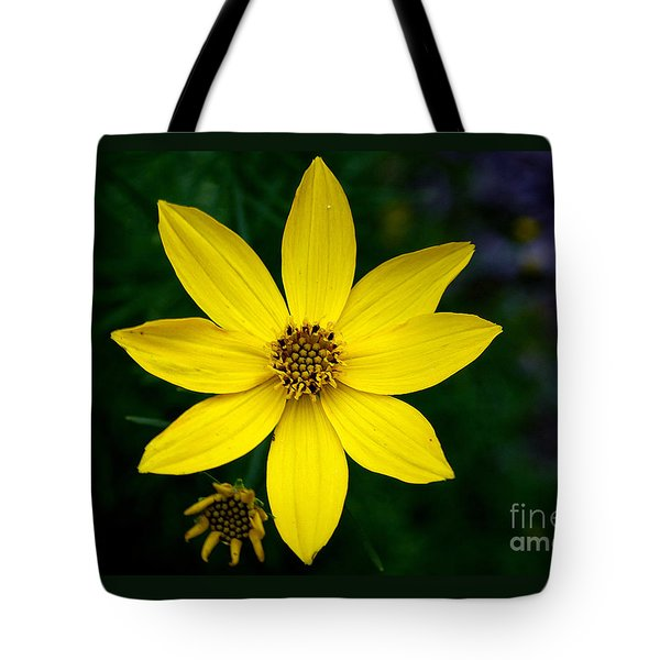 Tote Bag featuring the photograph Yellow by Adrian LaRoque