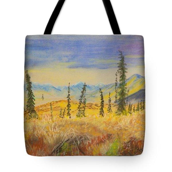 Yellow Alaska Tote Bag