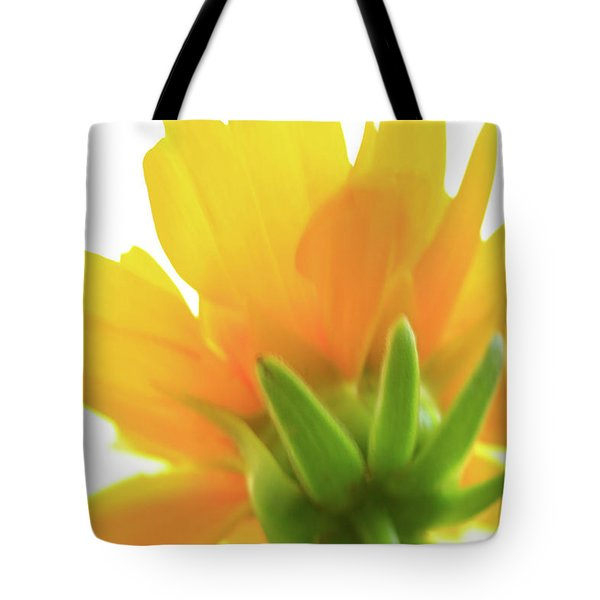 Tote Bag featuring the photograph Yellow And Green by Roger Mullenhour