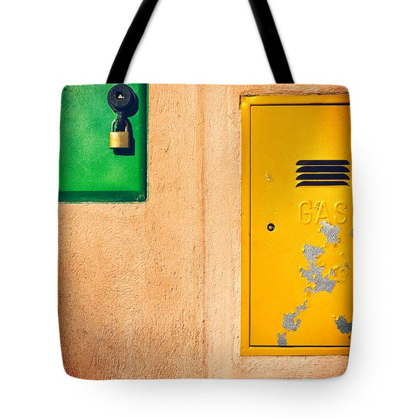 Tote Bag featuring the photograph Yellow And Green by Silvia Ganora