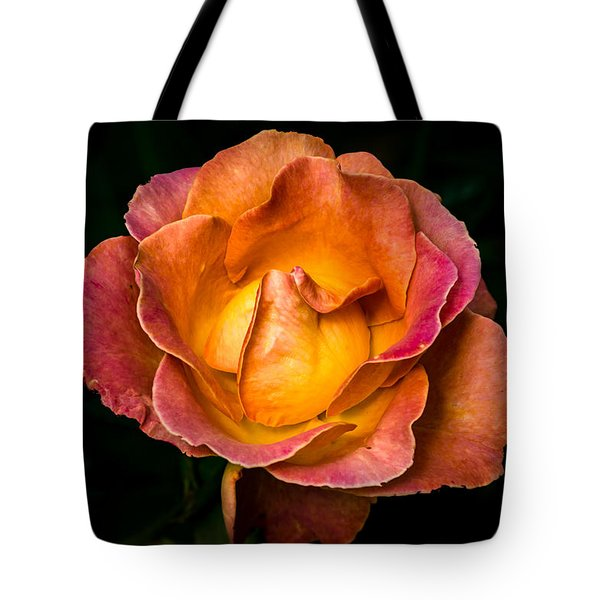 Tote Bag featuring the photograph Yellow And Pink by Jay Stockhaus