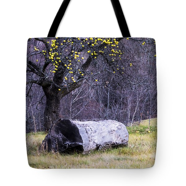 Yellow Apples Tote Bag