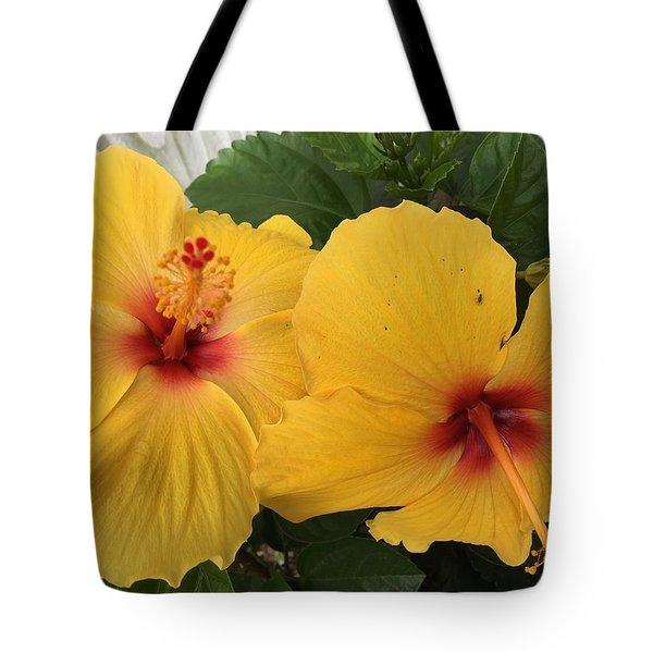 Yellow Beauties Tote Bag