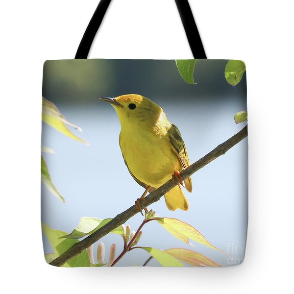 Yellow Beauty Tote Bag by Anita Oakley