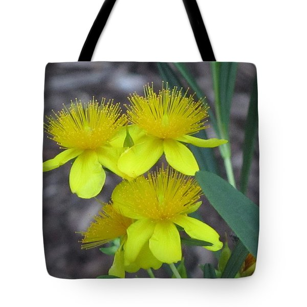Yellow  Beauty Tote Bag