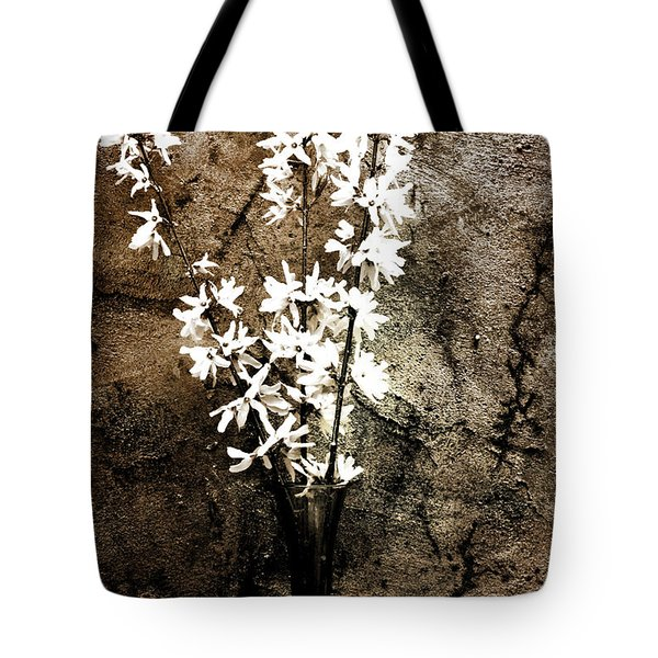 Tote Bag featuring the photograph Yellow Bells by Gray  Artus