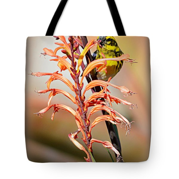 Yellow Bird Hi Tote Bag