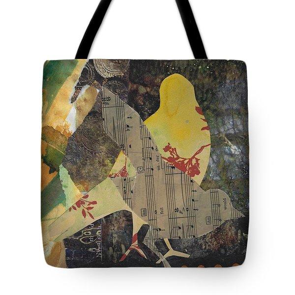 Yellow Bird Tote Bag