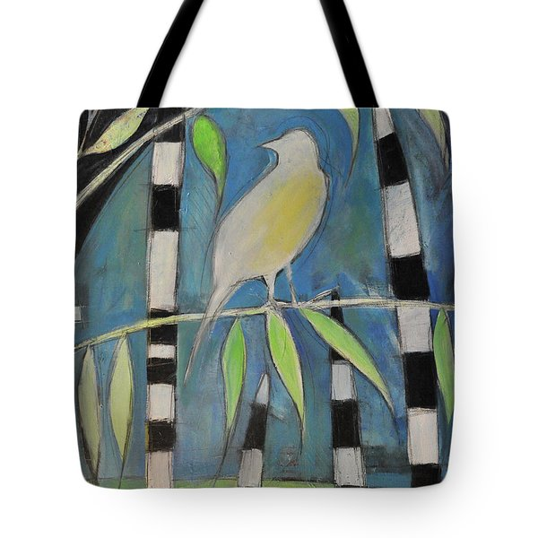 Yellow Bird Up High... Tote Bag by Tim Nyberg