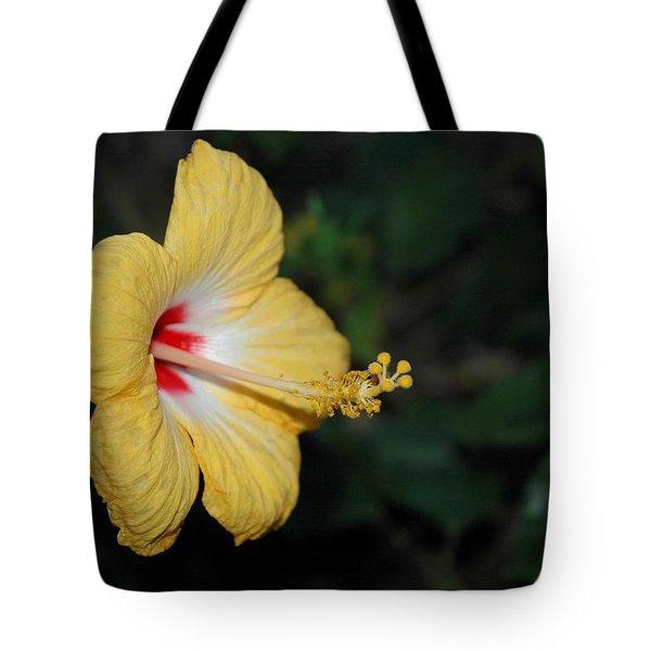 Yellow Bloom Tote Bag