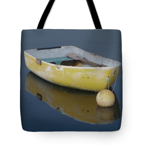 Yellow Rowboat Tote Bag