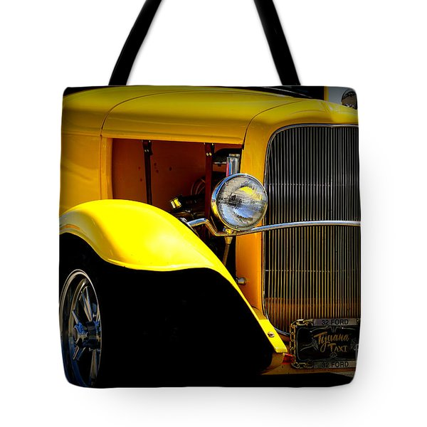 Yellow Boy Tote Bag