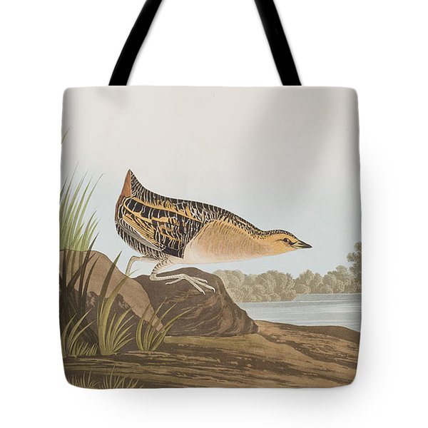 Yellow-breasted Rail Tote Bag
