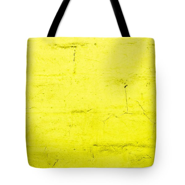 Yellow Brick Wall Tote Bag