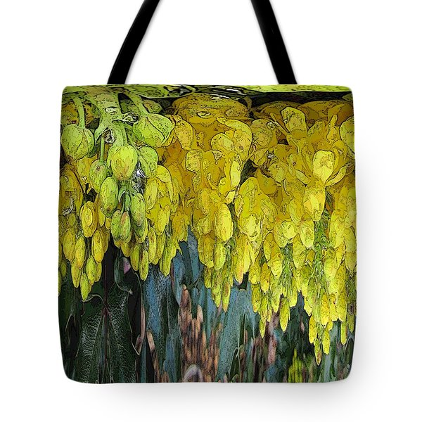 Yellow Buds Tote Bag by Tim Allen