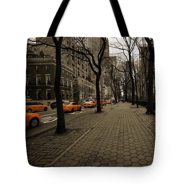 Yellow Cab Tote Bag