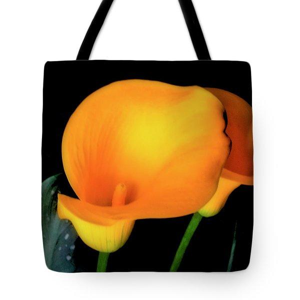 Yellow Calla Lilies - 01 Tote Bag