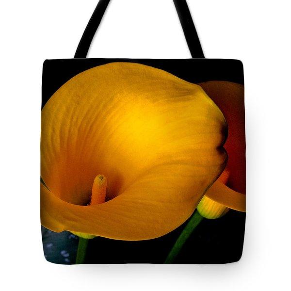 Yellow Calla Lilies - 02 Tote Bag
