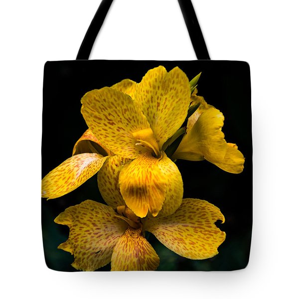 Yellow Canna Lily Tote Bag