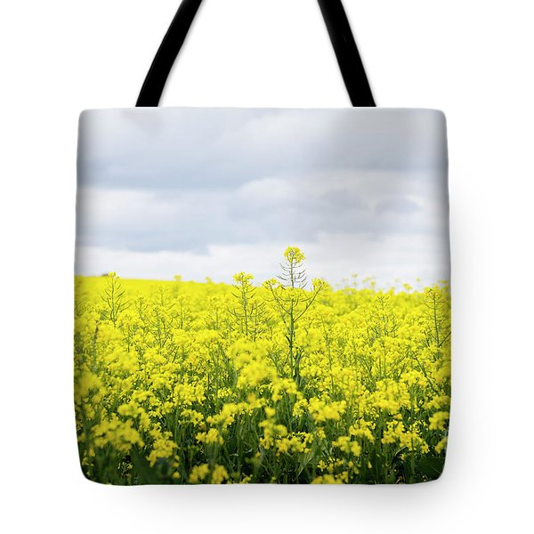 Tote Bag featuring the photograph Yellow Canopies by Ivy Ho