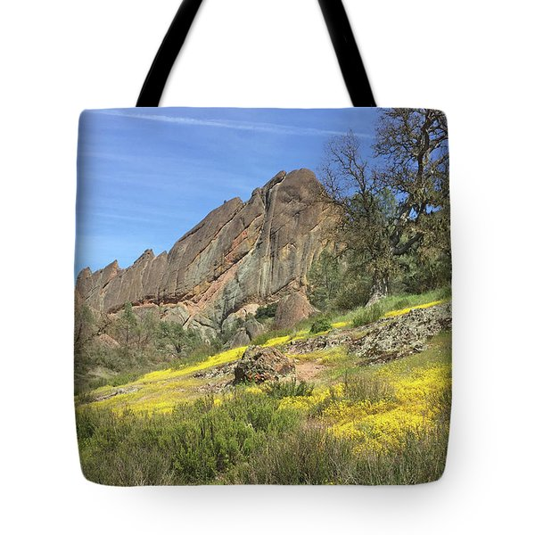 Tote Bag featuring the photograph Yellow Carpet by Art Block Collections