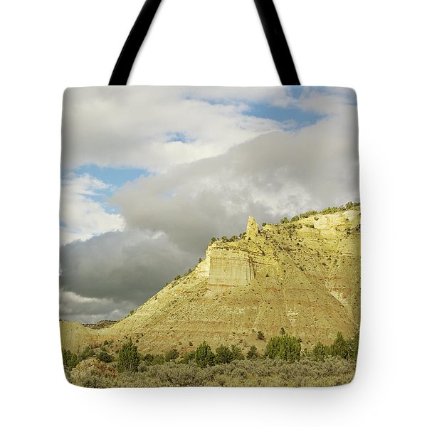 Yellow Cliffs Tote Bag